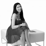 Eriak Lyremark black and white image sitting on a stool