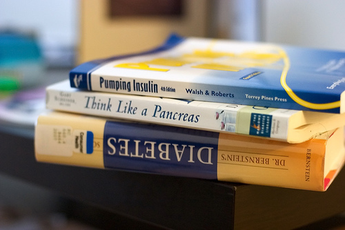 pile of medical books