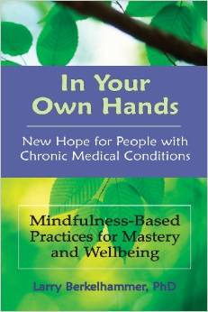 In Your Own Hands: New Hope for People with Chronic Medical Conditions – Mindfulness-Based Practices for Mastery and Wellbeing. Larry Berkelhammer, PhD