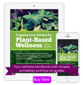 Grace Quantock's Plant Based Wellness Ebook Image