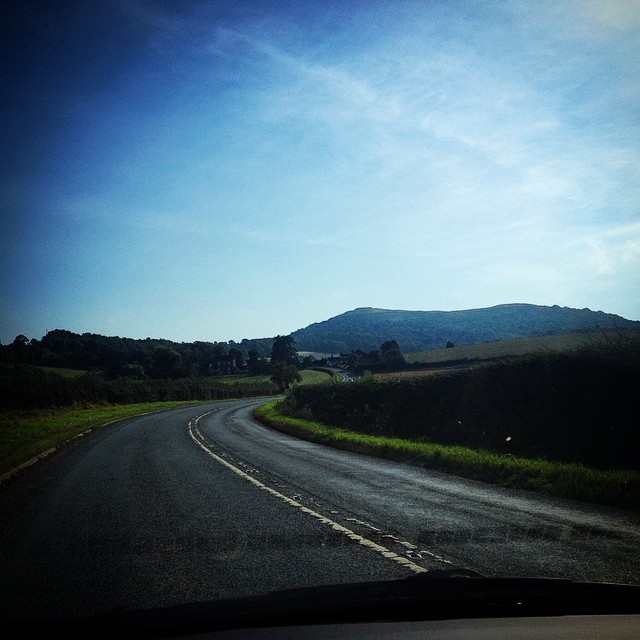Driving in the Malverns #spaday #latergram #malvern #england #roadtrip #greatview #instagood #instalike