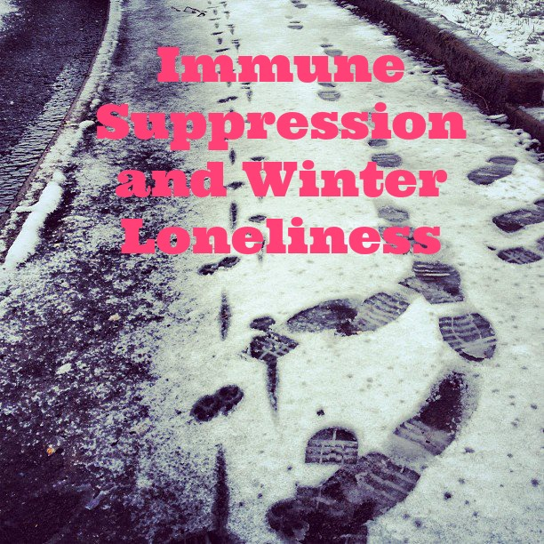Immune Suppression and Winter Loneliness