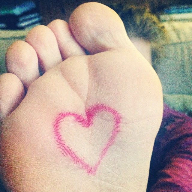 #beyourownbeloved kick out the gremlins & internal editors! (For those who remember my painted feet photograph from the #crazysexylife days, you win extra hugs & sparkles). #healingjourney #trailblazingwellness #arttherapy