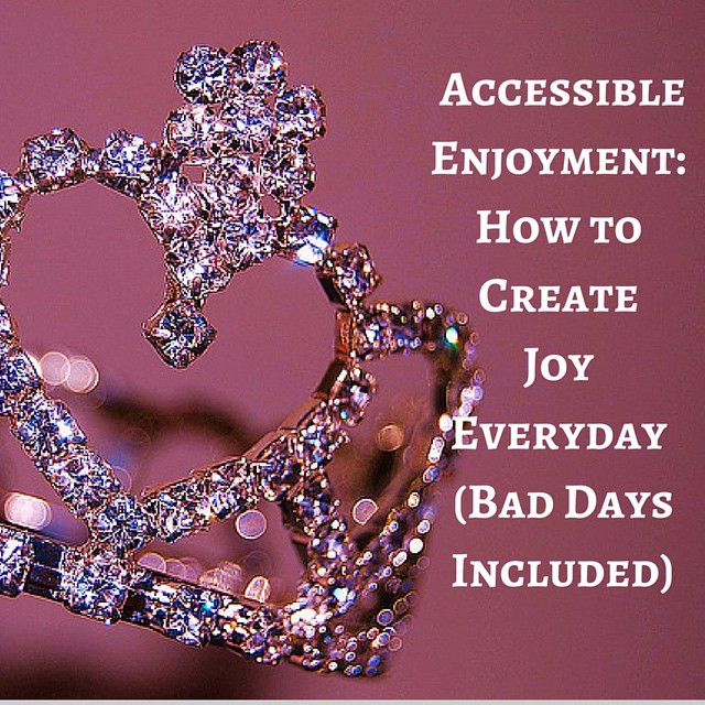 Disability and fun can seem incompatible. How can you have fun when you are stuck in bed all day (and not in a good way)? Let's talk accessible enjoyment. One doesn't have to be well to live well. Check out my latest blog post on GraceQuantock.com (link in profile) #healingjourney #disability #chronicillness #invisibleillness #spoonie #chronicpain #fibro #health #wheelchair #fun #healing #trailblazingwellness #smile #bedbound #housebound #findingjoy #tiara