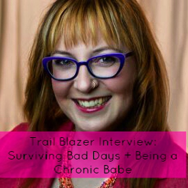 Check out my Trail Blazer Interview on GraceQuantock.com with the amazing @chronicbabe we're talking dealing with bad days, wellness women dreams, disabled entrepreneurship & behind the scenes of her rocking Kickstarter! Come & check it out! #chronicillness #healing #spoonie #disability #chronicbabe #trailblazingwellness #healingjourney #disabled #disabledentrepreneur #invisibledisability #sickandtired #illness #pain #healing #support