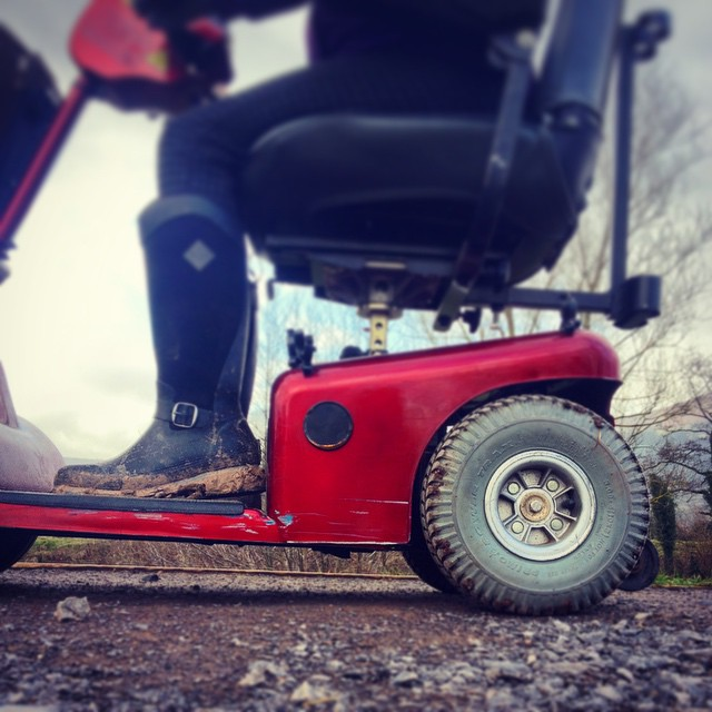 #beyourownbeloved prompt: taking up space. Bigger wheels, strong engine, swift travels #abergavenny #exploring #healingjourney #trailblazingwellness #newthings