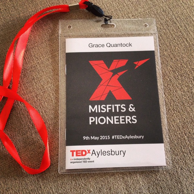 So honoured to be a speaker at @TedxAylesbury today. Amazing audience, experience & opportunity for humans to blaze trails together #TEDx #TedxAylesbury #misfitsandpioneers #turntrailblazer #latergram #gratitude