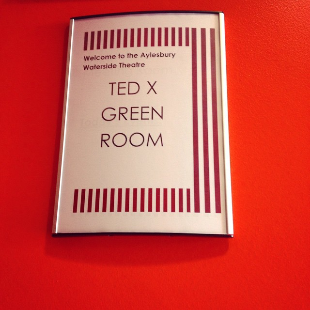 An exciting moment #latergram - entering the green room #TedxAylesbury #onstage #speaker #trailblazingwellness #turntrailblazer #TEDx