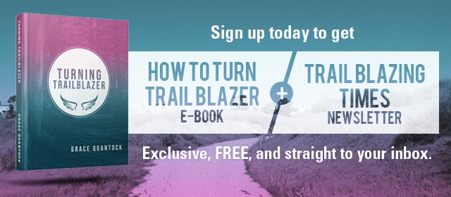 Subscribe to Trail Blazing Times and How To Turn Trail Blazer E-Book