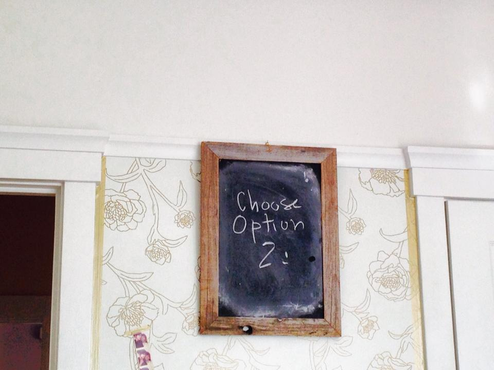 Choose Option 2 by Esme Wang