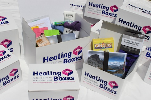 Healing Boxes for Marie Claire UK Magazine