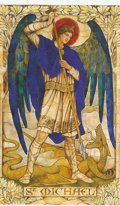 painting of archangel michael
