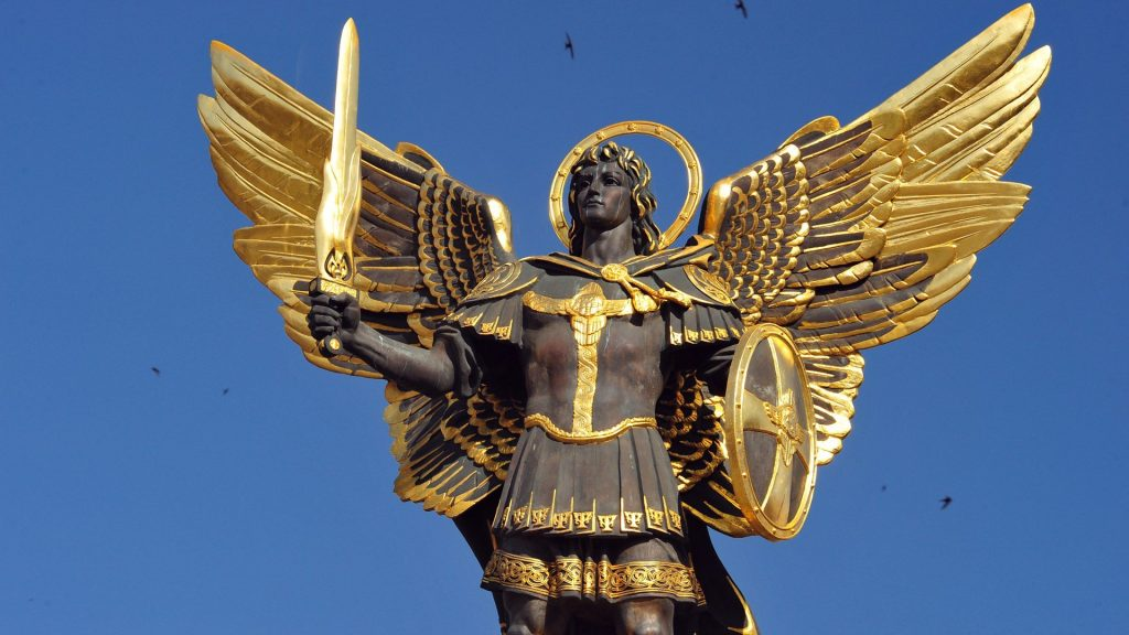 statue of archangel michael