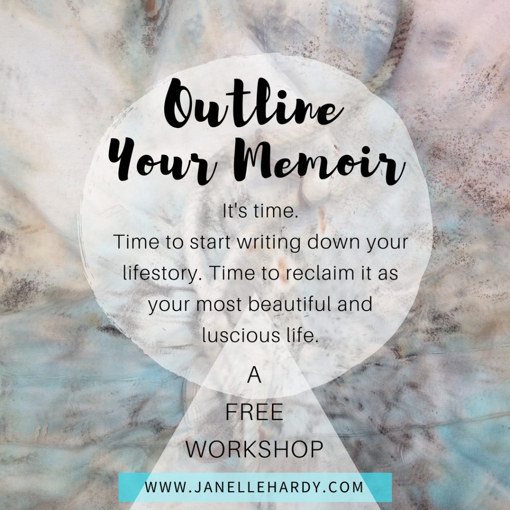 Outline your memoir
