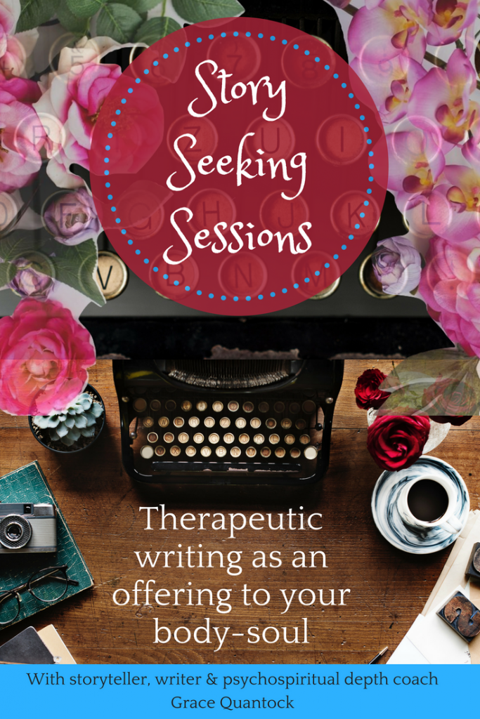 Story seeking sessions: therapeutic writing as a gift to your body-soul