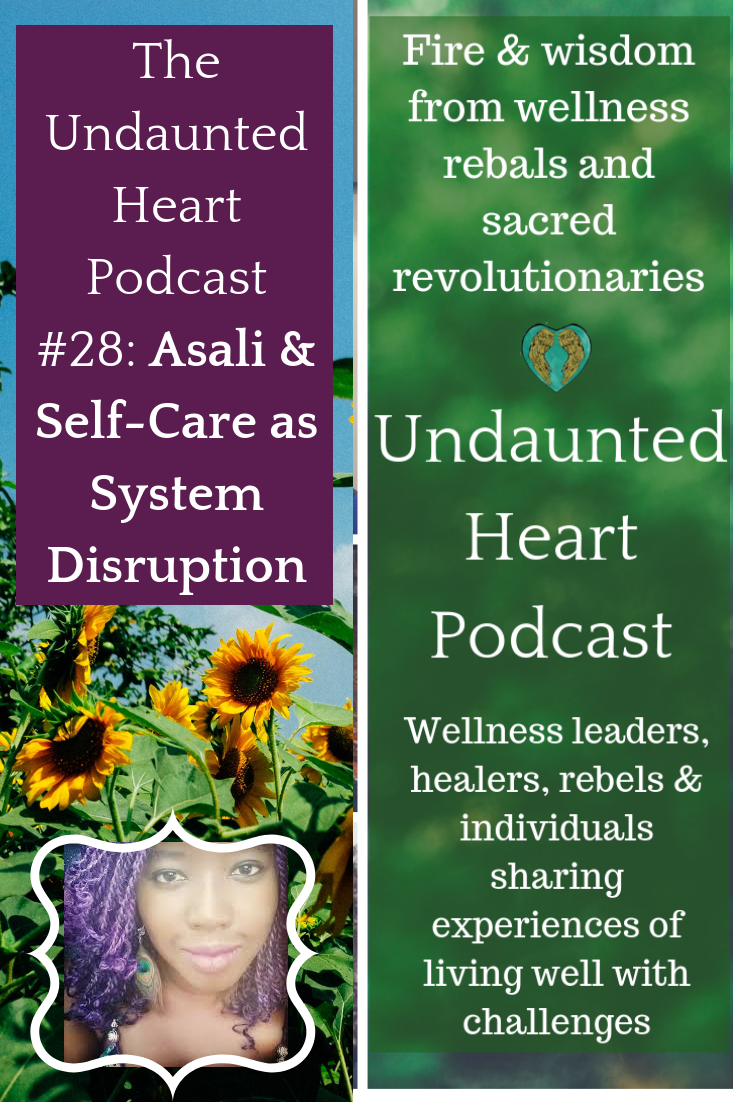 Asali undaunted heart podcast