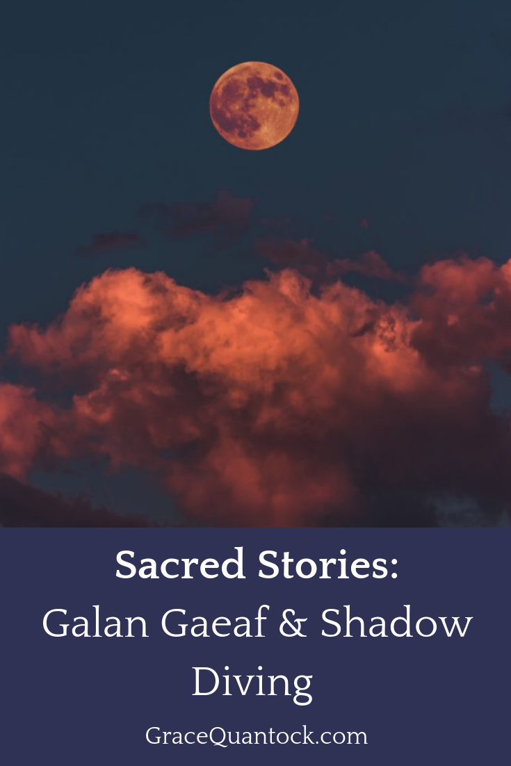 Red cloud, Sacred Stories, Calan Gaef and Shadow Diving